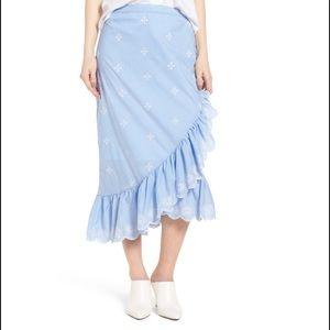 Chelsea 28 Ruffle Midi Skirt
